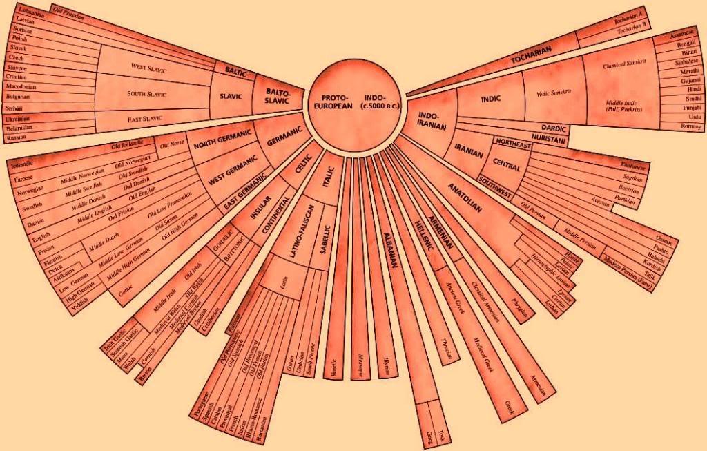 Origjina e gjuhëve