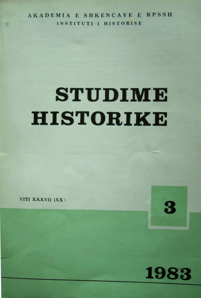 Revista Studime historike 1983