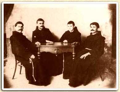 Gjergj Fishta, Karl Prennushi, Justin Rrota, Shtjefen Gjeçovi