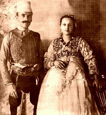 Mustafa Merlika-Kruja dhe Caje Merlika
