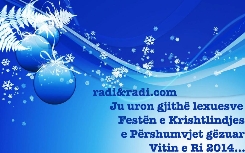 Gëzuar festat miqtë e mi...