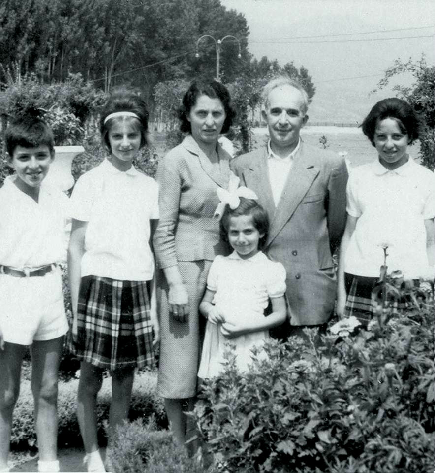 Familja e Dhimitër Paskos