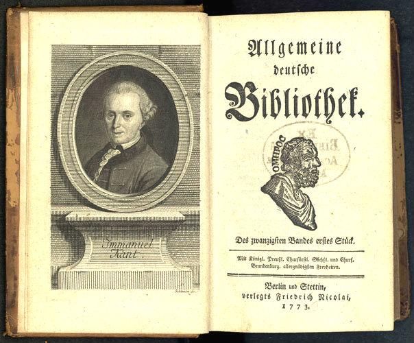 Kant Immanuel (1724-1804)