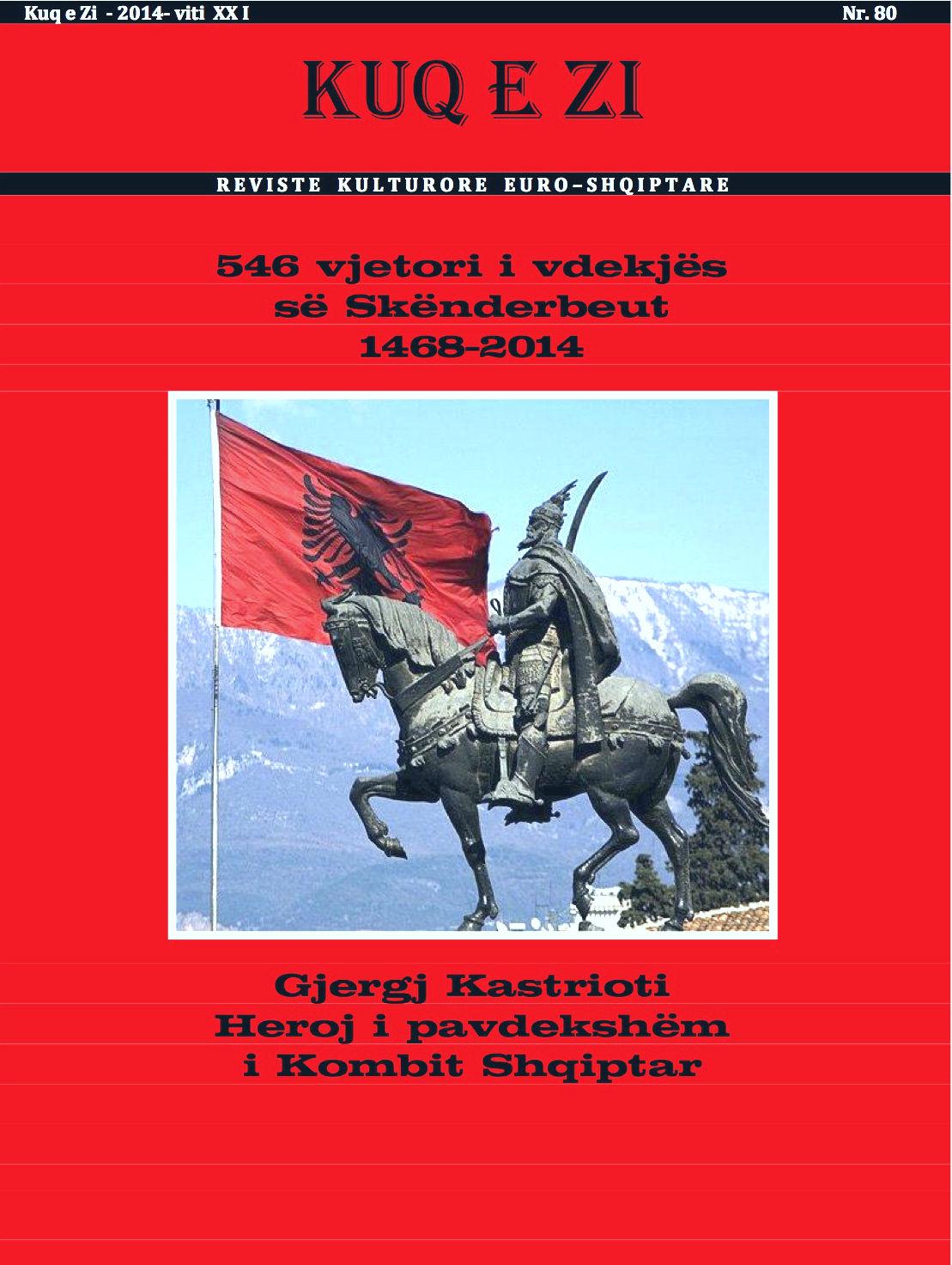 """Revista """"KuqeZi"""" Nr. 80"""