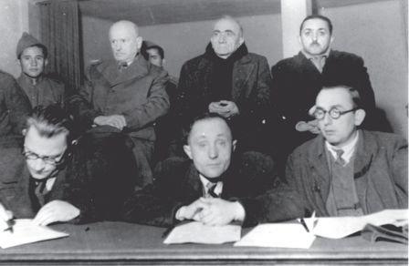 Para gjyqit Nosi, Harapi, Bushati