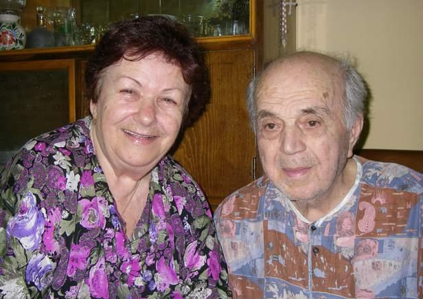 Profesor Pashko Gjeçi dhe e shoqja Nezaqeti