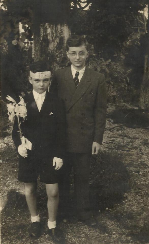 Eduard & Gaspër Çurçia1948