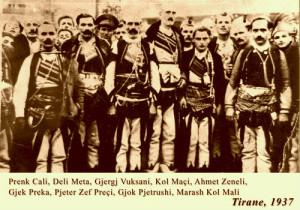 Prek Cali me malsorë - 25 vjetori i Pavarsisë 28 nandor 1937