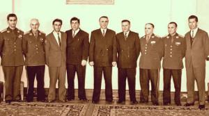 Tiranë 1965 - Kuadro të Ushtrisë dhe Shtetit