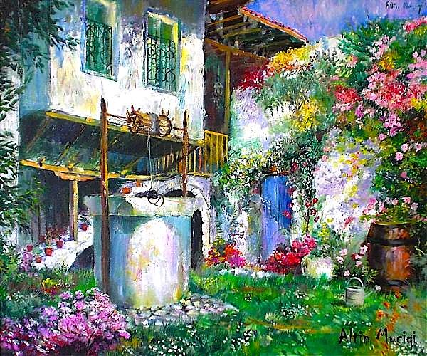 Bahçe Shkodre (Pikture Altin Muçiqi)