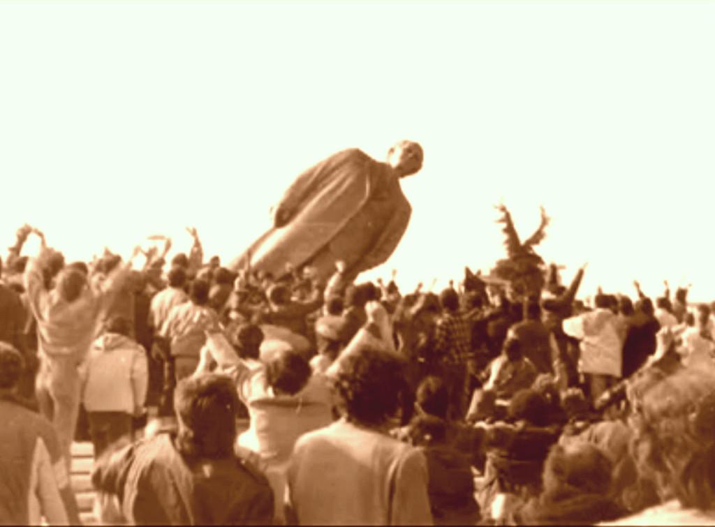 Rrëzimi i diktatorit... 20 shkurt 1991