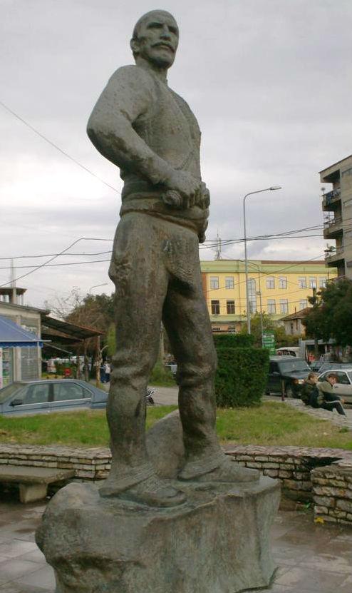 Statuja e Prek Calit Shkoder