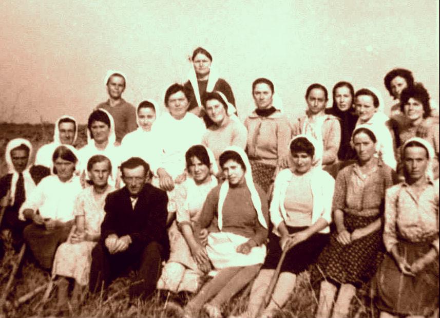 Savër 1969 -Brigadë bujqësie me gra të Interrnuara
