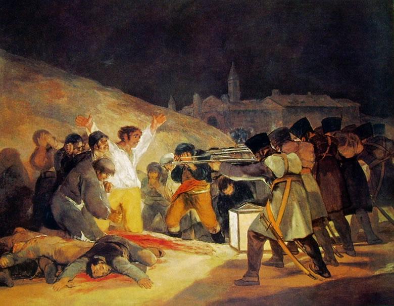 Goya - Pushkatimi i 3 majit 1808