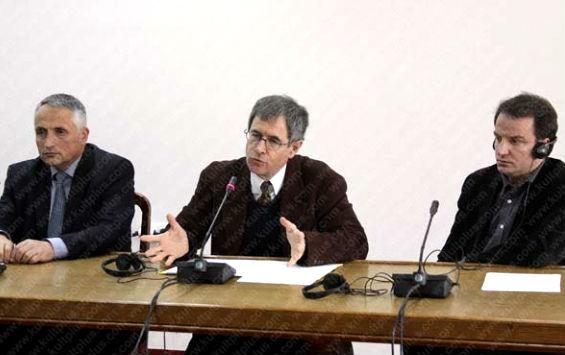 Prof. Champseix ne takimin e Kosoves 2014