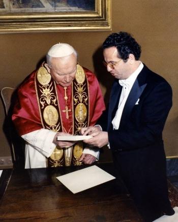 Papa Gjon Pali i II dhe Pjetër Pepa