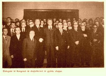 Delegatët e Kongresit në polifoto