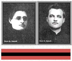 Martiret Gjon e Nikoll Gazullori