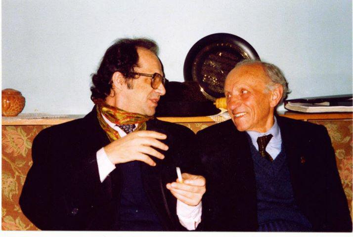 Ibrahim Rugova dhe Osman Kazazi...