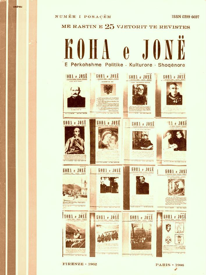 "Revista ""Koha Jone"""