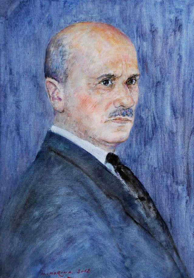 Lef Nosi (Pikturë e Arben Morinës)