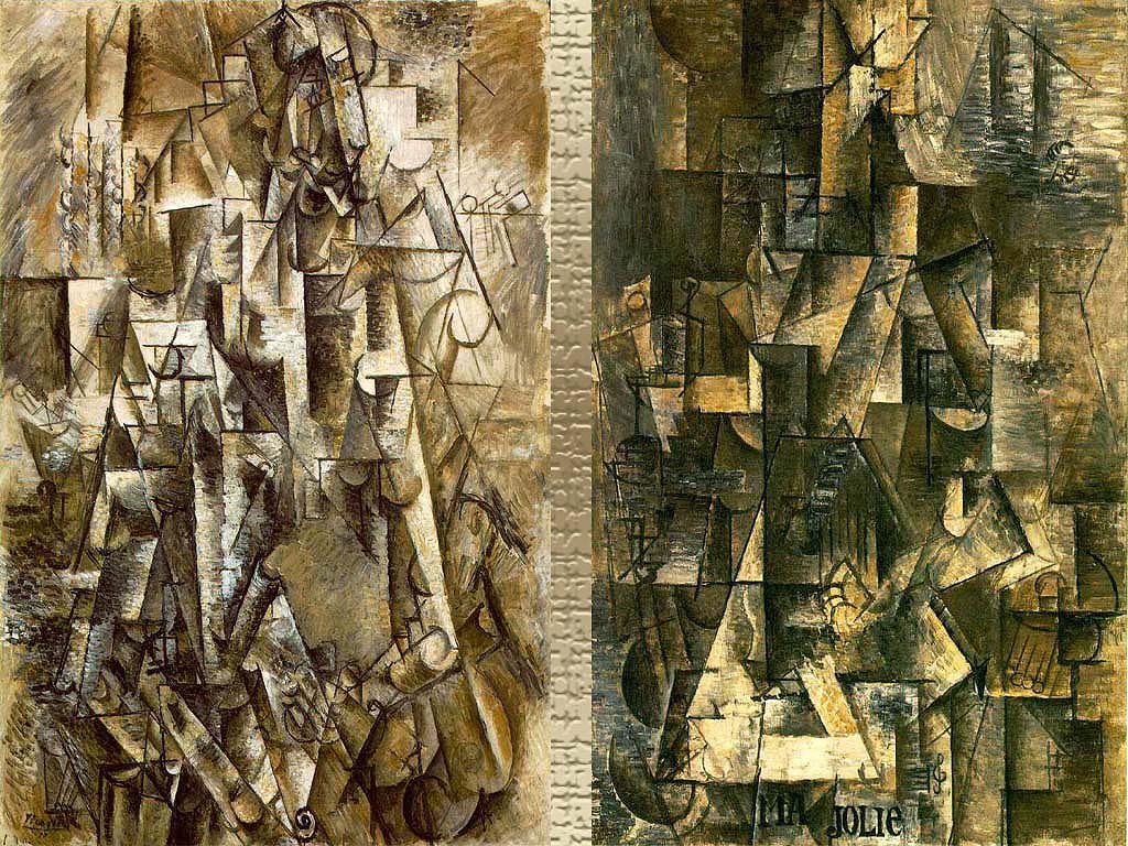 Pablo Picasso - Poeti dhe Ma Jolie (gruaja me kitare)