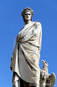 Statuja e Dante Alighierit