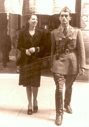 Valentini dhe shoqja Maria Gorizia (1941)