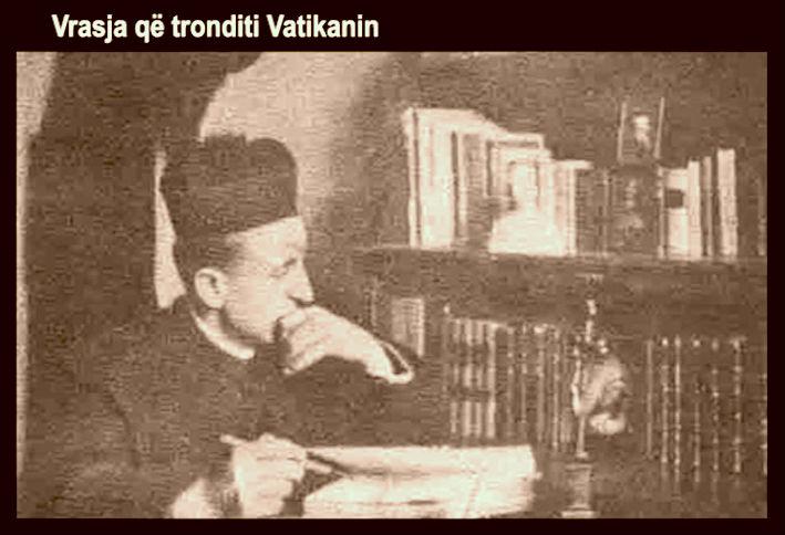 Shqetesimi i Vatikanit...