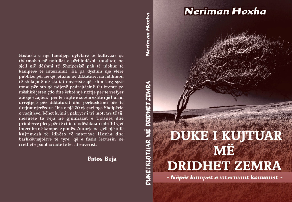 Neriman Hoxha - Kopertina e Librit