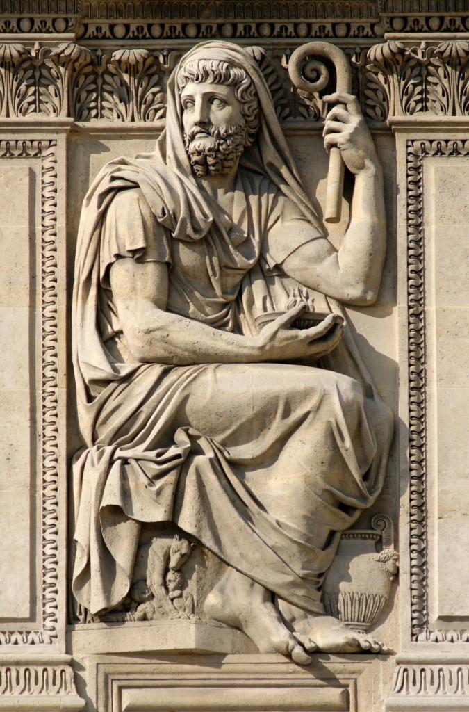Herodoti - Relief ne Louvre