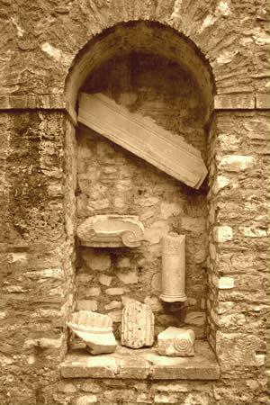 Fragment arkitektural Butrint