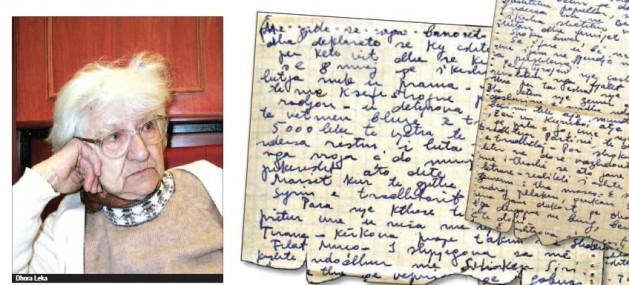 Letra e Dhora Lekës....