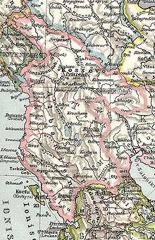 Albanian vilayet (Vilajeti Shqiptar)