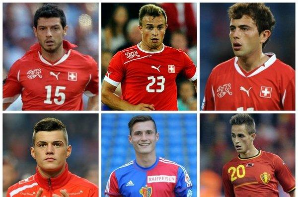 """Disa prej """"shqipeve"""" të Botërorit 2014..."""