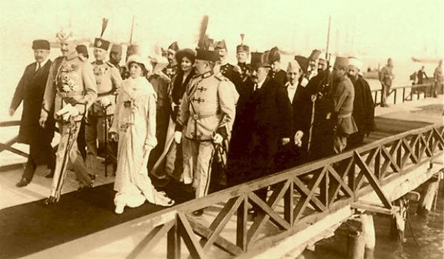 Ardhja e Princ Wied 1913