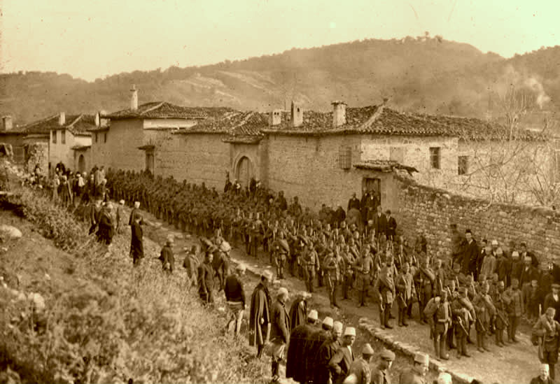 Forcat Shqiptare ne Jug 1913