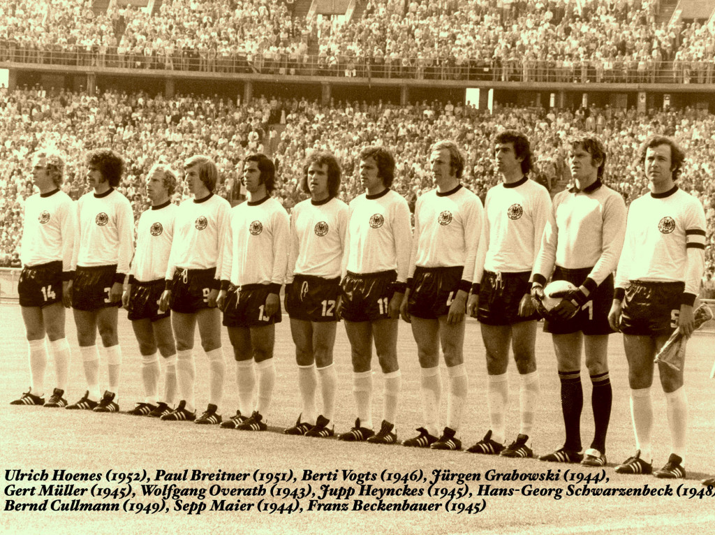Gjermania 1974 - (Ndoshta me e mira skuader e botes