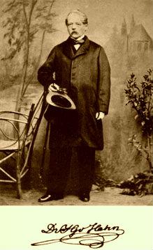 Johan Georg fon Hahn (1811-1869)