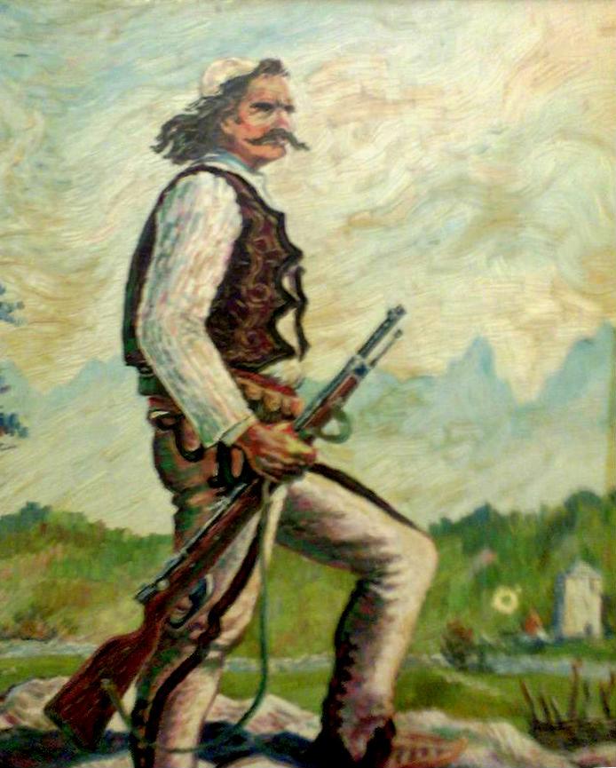 Luftëtari i Maleve (Pikturë nga Lek Pervizi)