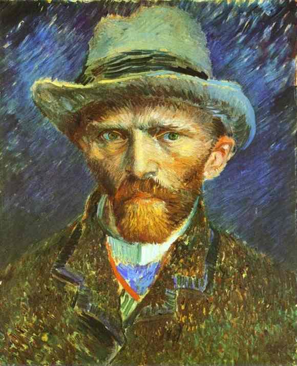 Van Gogh - Autoportrait 1887