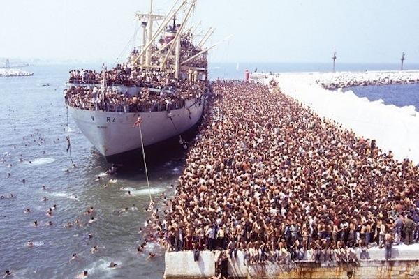 Anija e Shpresës - Gusht 1991