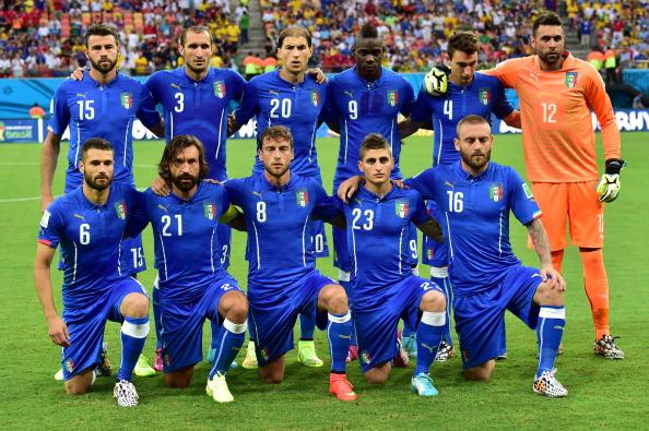 Skuadra Italiane para ndeshjes me Angline (2-1)