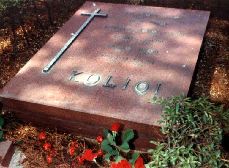 """Varri i Koliqit në """"Prima Porta"""",  Romë."""