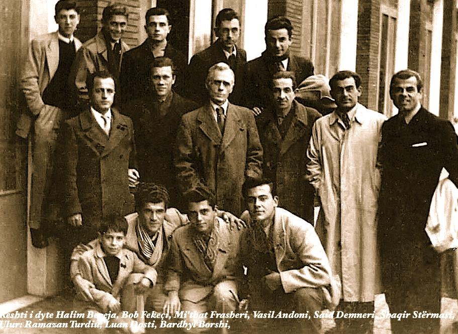 Mit'hat Frashëri dhe rinia e emigracionit shqiptar
