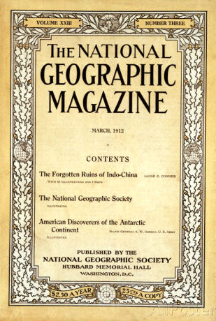 National Geographic Magazine 1912