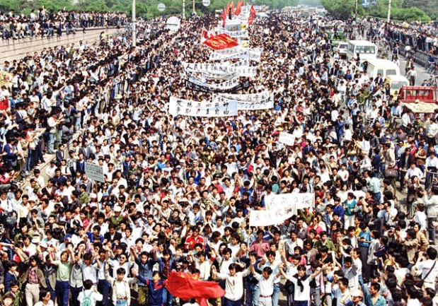 Tienanmeni në protestë - Qershor 1989