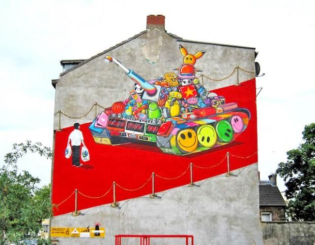 Nji grafit... i ngjarjes ne Tienanmen