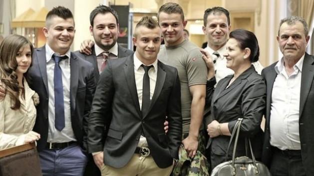 Familja e Xherdan Shaqirit