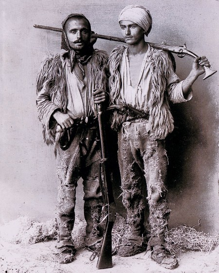 Luftëtarë shqiptar (foto marubi)